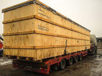Оборудование контейнерного типа, вес 26т